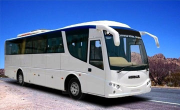 bus hire in amritsar